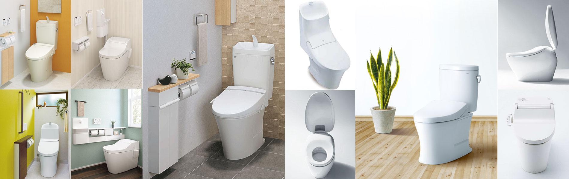 トイレのリフォームお任せ下さい!ウォシュレット交換 26,800円(税別)~ トイレも一緒に交換しても111,800円(税別)~